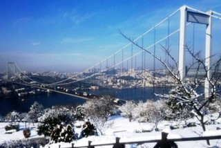 Karlı Havalarda İstanbul'u Tepeden İzleyebileceğiniz Mekanlar