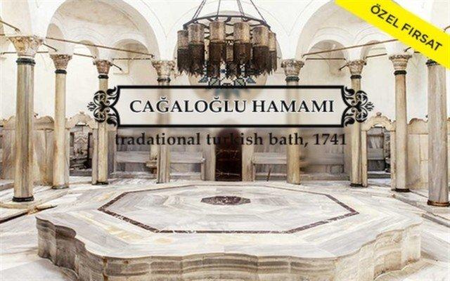 Tarihi Cağaloğlu Hamamı'nda Kuru Masaj, Kese ve Köpük Masajı, Hamam Kullanımı ve İkramlar
