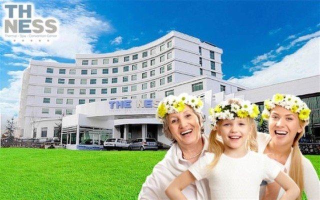 Bayram Dahil Kocaeli 5 Yıldızlı The Ness Thermal Hotel'de Yarım Pansiyon Plus Konaklama ve Spa Keyfi