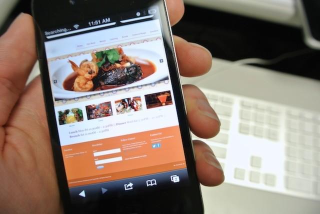 Mobil Restoran İnternet Sitesi